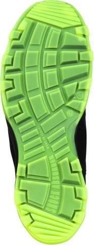 """Heckel Chaussure De Sécurité """"RUN-R Serie"""" ACE édition S1P sans métal, extrêmement légères, différents Taille noir-vert"""