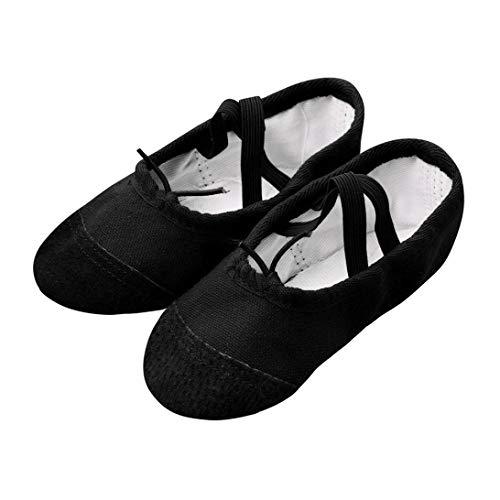ZODOF Zapatillas Lona Ballet Pointe Dance