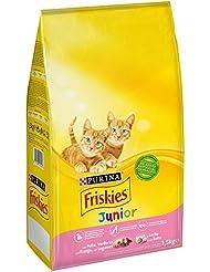 Purina Friskies Junior Pienso para Gato hasta 1 año 1,5 Kg