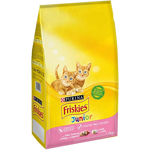 Purina Friskies Junior Pienso para Gato hasta 1 año 1,5 Kg