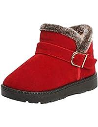 Eur es Amazon Zapatos 0 20 Niña Botas Rojas Para XxqaP