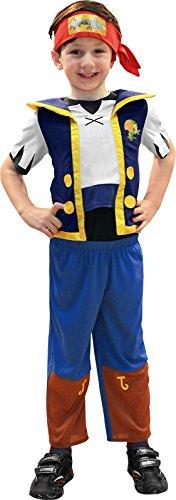 Jake und die Nimmerland Piraten™ - Kostüm für Jungen - 3-4 Jahre