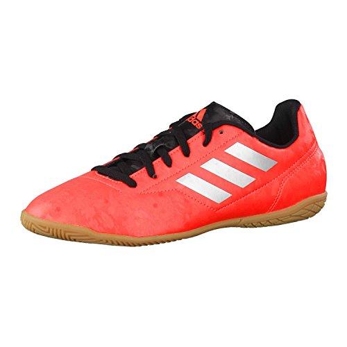 adidas Kinder Fussballschuhe Conquisto II IN Solar Red/Silver Met./Core Black 29