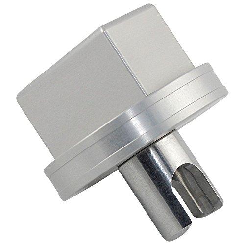 """ Universal "" 28mm Low Profile Wagenheber Adapter - Jack Pad Tool - passend für "" BMW, Mini, Nissan und Mercedes-Benz "" und Low Profile Wagenheber z.B. A.T.U (ATU)"