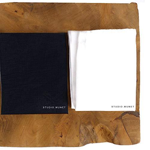 10tlg. Set: 1 x Dr. Beckmann Farb- & Schmutzfänger Tücher kompatibel mit 8x900ml Lenor Parfum Deluxe Weichspüler / Mystery Blush Charm Kiss / 288 WL + 1 x Mini-Bag von STUDIO.MUNET -