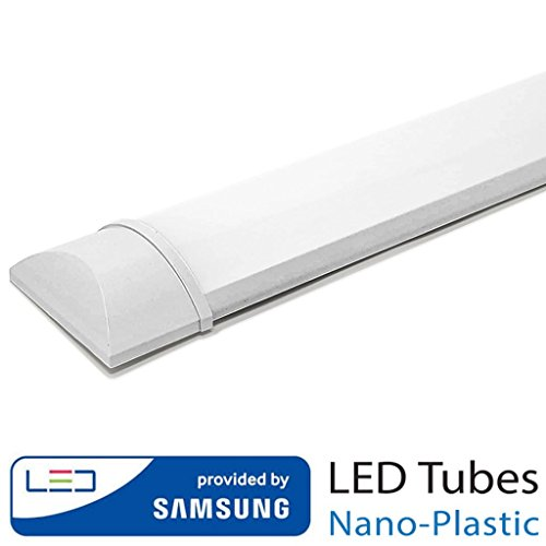 V-tac - Pantalla led ip20 40w luz fria [Clase de eficiencia energética A+] (40.00)