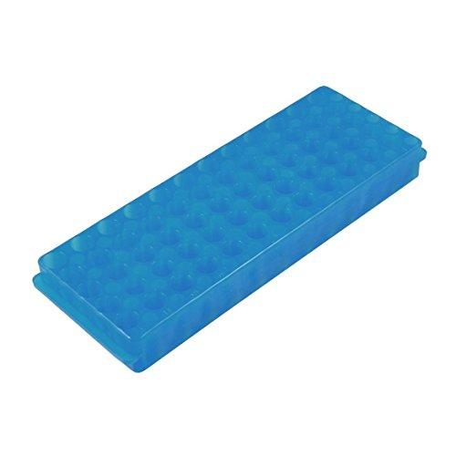 - TOOGOO(R) Labor Kunststoff 60 Sockel 11mm Durchmesser Reagenzglasstaender Blau ()