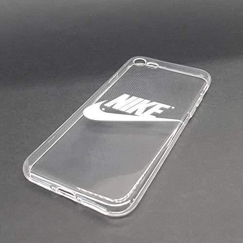 custom-cases Hülle Tasche für Mobile Gehäuse Logo Nike in Weiß mit Hintergrund Transparent - iPhone XR Logo Custom Iphone