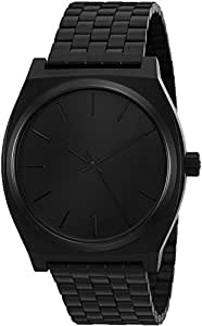 Nixon Herren-Armbanduhr Analog Edelstahl A045001-00 All Black