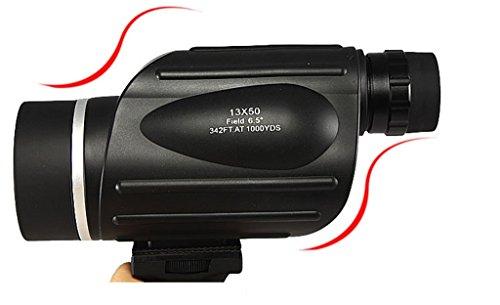 Binocolo 13X50 alto - ad alta potenza - Definizione Singolo cilindro riempito con azoto impermeabile telemetro Night Vision ampio - Angolo bird - watching
