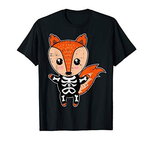 Eichhörnchen-Skelett-Kostüm Lustiges Tier Halloween-Geschenk T-Shirt