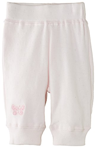 Pumpkin Patch Baby-Mädchen Pointelle Pants Hose, Rosa - Pink (Sweet PEA), Neugeborene Baby-pointelle