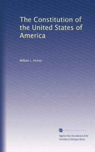 The Constitution of the United States of America: With an Alphabetical Analysis : the .
