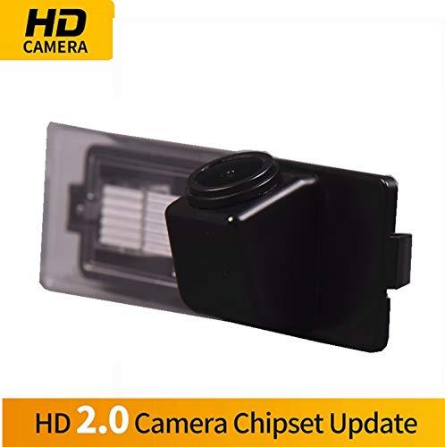 HD Wasserdicht Rückfahrkamera in Kennzeichenleuchte Einparkhilfe Kamera Nachtsicht Einparkkamera für BMW 1 Series M1 E81 E87 F20 F21 116i 118i 120i 135i 640i Mini Cooper R55 R57 R60 R61 (Navigation Dvd Mini Cooper)