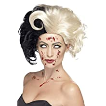 Smiffys 44264 Evil Madame Wig (One Size)