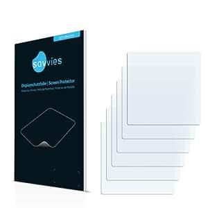 6x Savvies Film Protection pour Symbol MC3090-Z Protection écran Film Protecteur Transparent