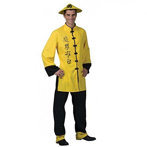Chinese Kostüm Japaner Herren Gr. 52 (Kostüm Chinesen Herren)