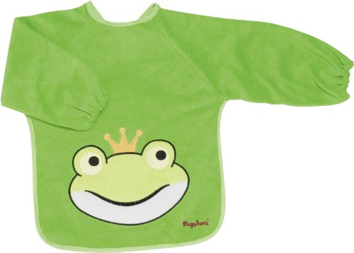 Playshoes 507136 - Ärmel-Lätzchen lang Arm, Froschkönig - Regelmäßige Länge Arm Ärmel
