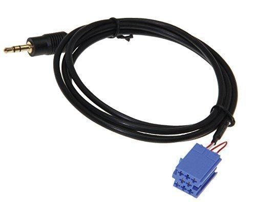 Aux Line In Adapter Kabel Stecker Buchse Auto Radio f iPod