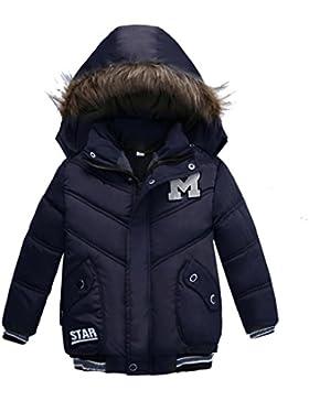 Babykleidung,Sannysis Kinder Mantel Jungen Mädchen Dick Jacke Gepolsterte Winterjacke Kleidung 2-5Jahre
