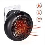Mini Heater,GHONLZIN Stufa Elettrica Portartile Termoventilatore Elettrico - Mini Instant Heater da Bagno Basso Consumo con Termostato Regolabile 1000W,Girevole Riscaldatore Elettrico