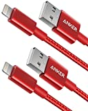 Anker [2 Pack iPhone Kabel 1m doppelt geflochtenes Premium Nylon Lightning Kabel, [Apple MFi...