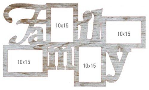 'Cornice galleria fotografica cornice portafoto in feltro famiglia legno antico design