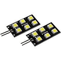 6x 5050SMD LED Módulo Placa fussraumbeleuchtung, Color Blanco