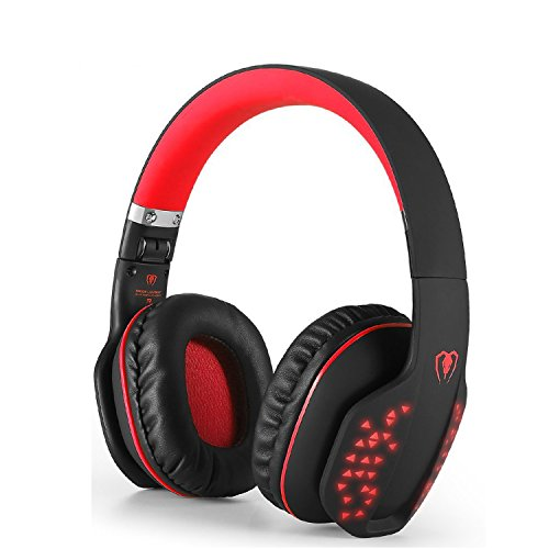 Bluetooth Kopfhörer über Ohren, Beexcellent Faltbar kabellos HiFi Stereo Bluetooth 4.1 Kopfhörer...