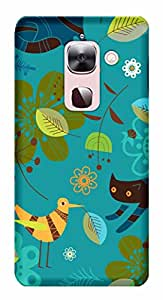 WOW 3D Printed Designer Mobile Case Back Cover For LeEco Le Max 2 / Le Max 2 / LeTV Max 2