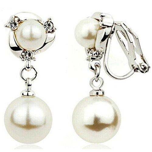 Spritech (TM) Mujer Elegante Jewelry–Pendientes de gota de imita