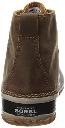 Sorel N About Leather, Stivali Chukka Donna Marrone (Elk)
