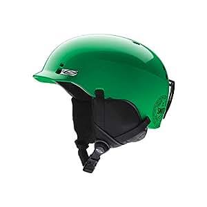 SMITH oPTICS casque de ski et snowboard pour enfant junior gage vert fluorescent 48/53