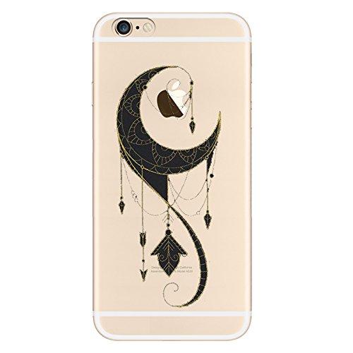 IPHONE 6plus Hülle Flamingos Katze Giraffe Weich Silikon TPU Schutzhülle Ultradünnen Case für iPhone 6 /6S plus Schutz Hülle Traumfänger Mond