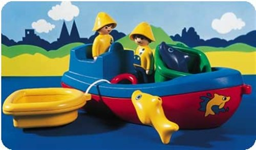 PLAYMOBIL 6714 - Fischerboot