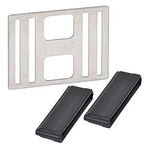 5x Connecteur Litzclip® pour ruban jusqu'à 40mm acier inox clôture électrique