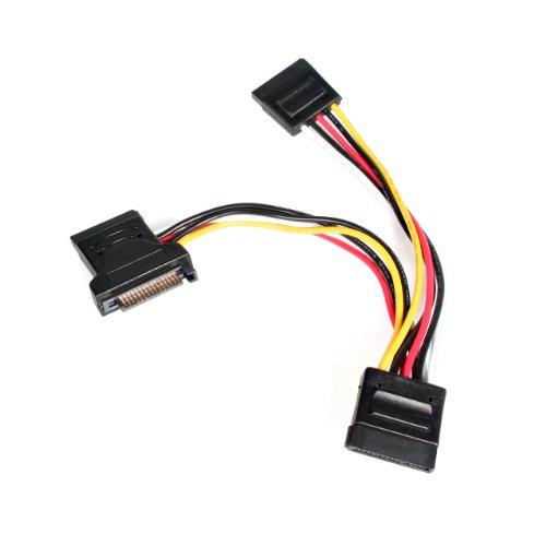 StarTech 4x SATA Power Splitter Adapter Kabel