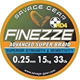 Savage Gear Finezze HD4Braid 27kg–46905Ringratschenschlüssel