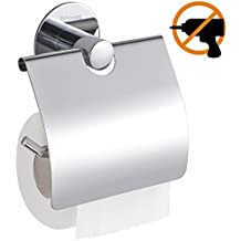 Wangel Adesivo Forte Porta rotolo Carta Igienica,