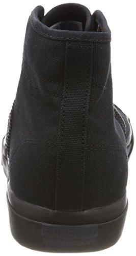 adidas Matchcourt High RX, Chaussures de Skateboard Homme, Noir Noir (Core Black/core Black/core Black)
