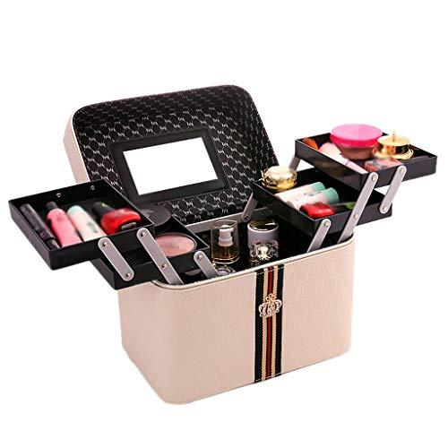 Boîte de Rangement Portable de boîte Simple (Color : Beige, Taille : 24 * 18 * 24cm)