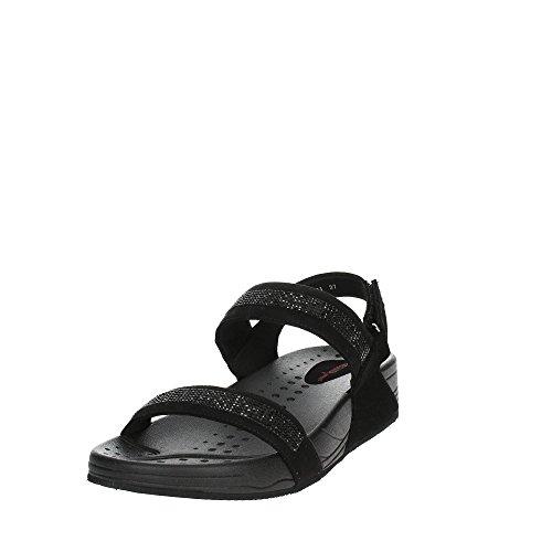 Pregunta PWFABIANA 001 Sandale Femme Noir