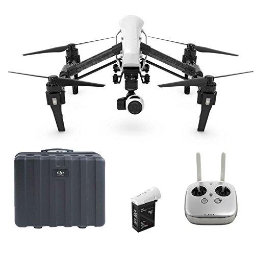 DJI Inspire 1 V2.0 Drone, Video 4K, 16 Megapixel, Bianco/Nero