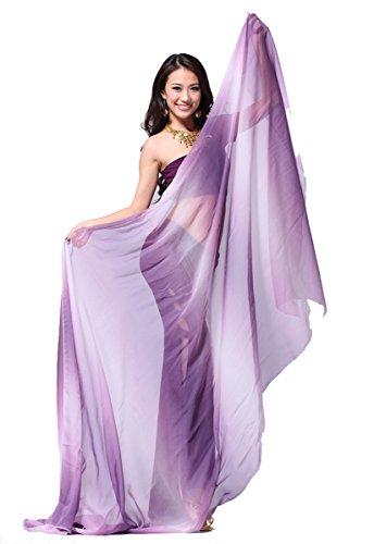 Pealiker - Châle - Femme purple-white