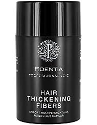 Fidentia Premium Schütthaar Streuhaar - Professional Line Haarverdichtung BEI LICHTEM, FEINEM HAAR 10g, Dark Brown - Dunkelbraun