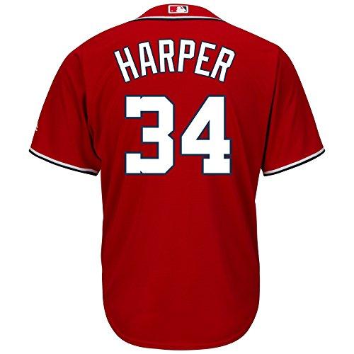 Washington Nationals basso freddo MLB maglia rossa