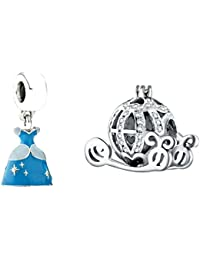 2 pack of Family Tree Multi coloured Charms Sister Mum Friend gift will fit Pandora and Biagi charm bracelets bmp