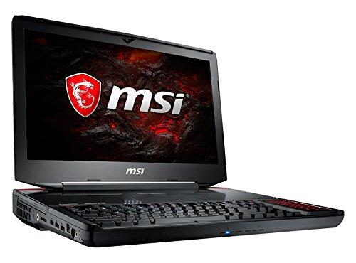 MSI GT83VR 7RE-094 Titan SLI (46,7 cm/18,4 Zoll) Gaming-Notebook (Intel Core i7-7820HK, 32GB RAM, 1 TB HDD + 256 GB SSD, Nvidia Dual GeForce GTX 1070, Windows 10 Home) schwarz GT83
