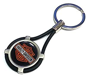 nouveau porte cl harley davidson voiture moto keyring bk. Black Bedroom Furniture Sets. Home Design Ideas