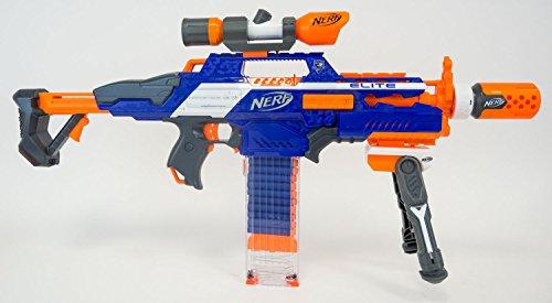 Preisvergleich Produktbild Nerf N-Strike Elite XD Rapidstrike - Sniper Edition deluxe - Original Nerf Blaster mit coolem Zubehör für Scharfschützen-Action